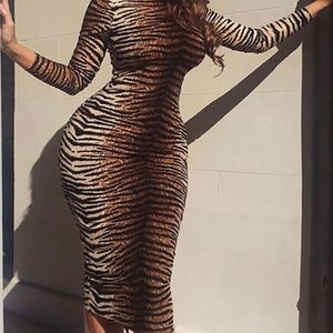 MID CALF STRETCH BRAND NEW DRESS SHOP NOW